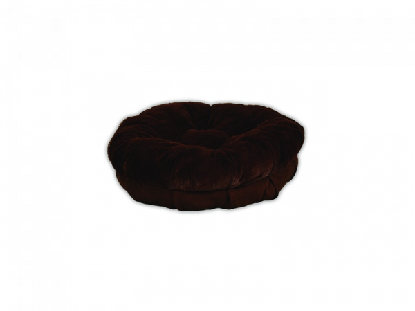 AFP Plush Snuggle Bed brown L