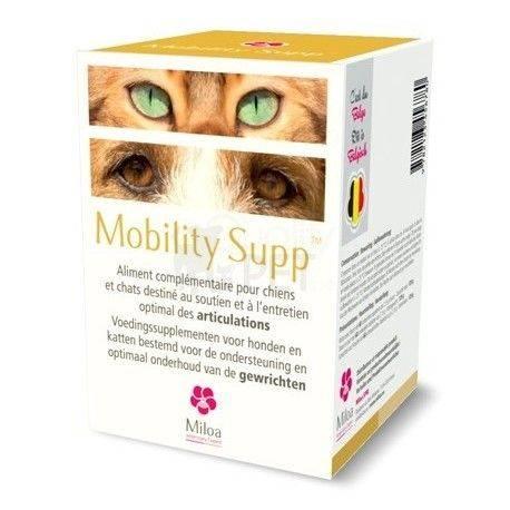Mobility Supp Miloa Gewrichten Hond Kat 60 tabletten
