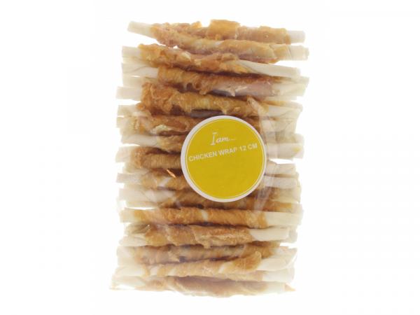 I Am Chicken Wrap Sticks Snack Hond 400 gram