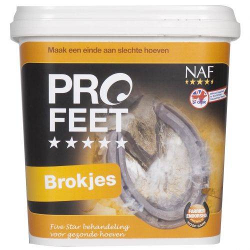 NAF ProFeet Pellets / Brokjes Paard 3 kg