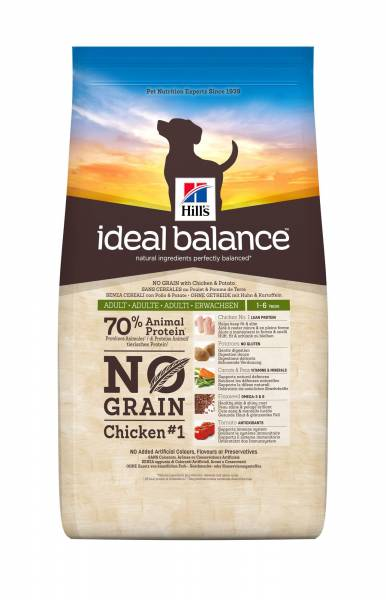 Hill's Ideal Balance Canine Adult No Grain Chicken & Potatoes 2 kg