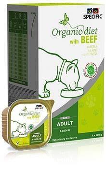 Specific Organic Beef F-Bio-W Kat 4x7x100 gram