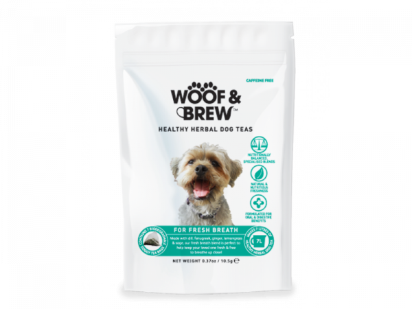 Woof & Brew Hondenthee Fresh Breath 14 theezakjes