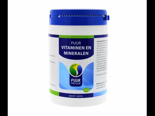 Puur Vitaminen Mineralen Paard Pony 500 gram